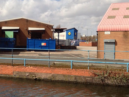 Lidl and the canal