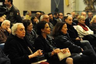 Pubblico invitato presentazione libro di Ferrara
