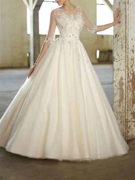 whiteivory wedding dress custom size