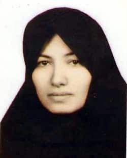 This undated image from Amnesty International in London, is said  to be a photo of Sakineh Mohammadi Ashtiani, the mother of two who was  facing the punishment of stoning to death in Iran, on charges of  adultery. (Amnesty International/Associated Press)