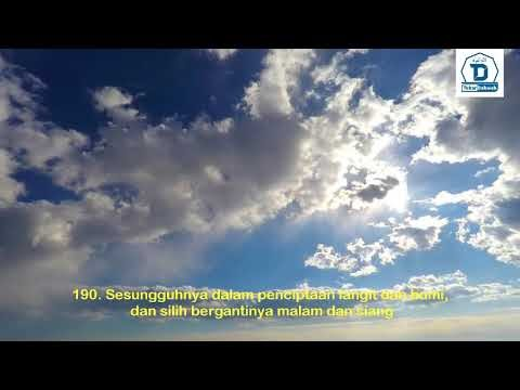 TADABUR SURAT ALI IMRAN : 190 | Perintah merenungi ayat-ayat Alloh