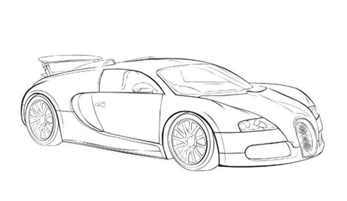 bugatti logo kleurplaat