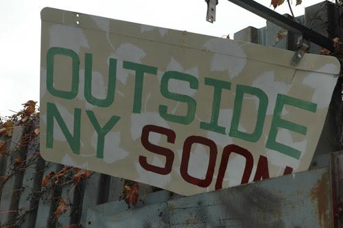 Outside NY Soon