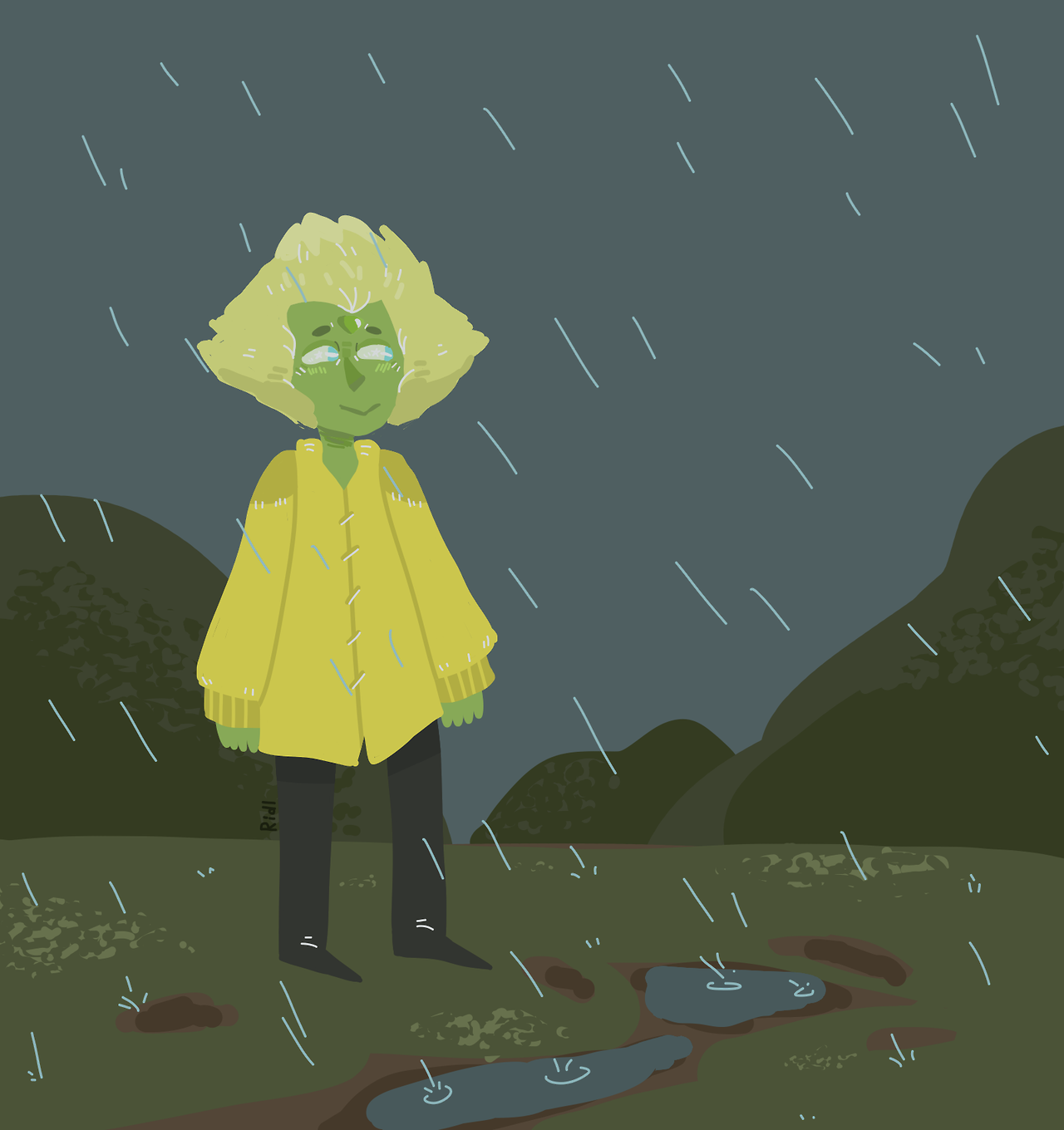 Rainy day (read more for gif version) [[MORE]]
