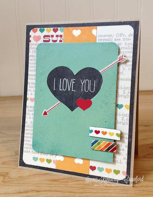 i love you Simple Stories by Kimberly Crawford