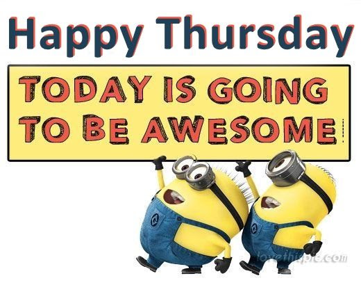 Image result for thursday is awesome