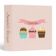 Cupcake Queen Recipe Binder