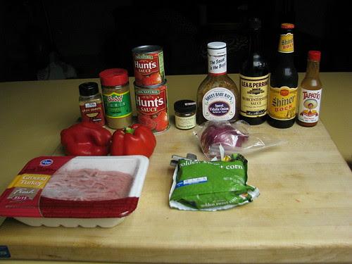 ingredients Indian Summer Turkey Chili