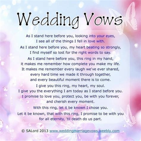 wedding vows that make you cry best photos   Page 3 of 4
