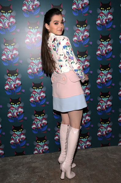 "Hailee Steinfeld - Miu Miu Women's Tales 7th Edition - ""Spark & Light"" Screening - Arrivals"