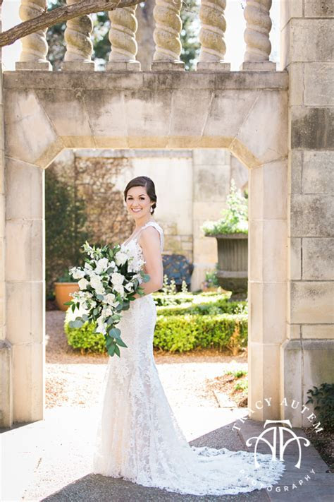 Leigh ? Bridal Portrait at The Dallas Arboretum   Tracy