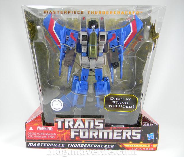 Transformers Thundercracker Masterpiece - modo alterno
