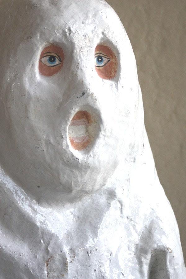 Paper Mache Ghost