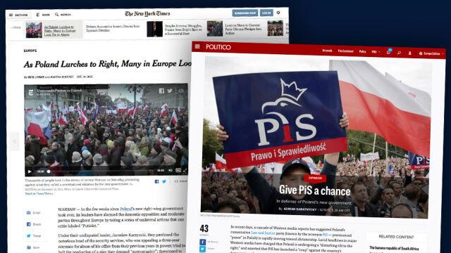 """""""Dajcie PiS-owi szansę"""". Były szef Freedom House o Polsce"""