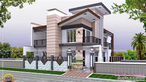 indian home modern style kerala home design  floor plans