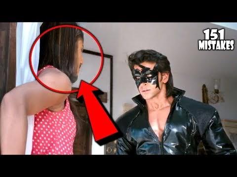 "(151 Mistakes) In Krrish 3 – Plenty Mistakes In "" Krrish 3 "" Full Hindi Movie – Hrithik & Priyanka"