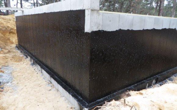 Basement Walls Waterproofing Membrane Arid Preservation