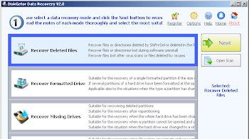 Phần mềm khôi phục dữ liệu DiskGetor Data Recovery