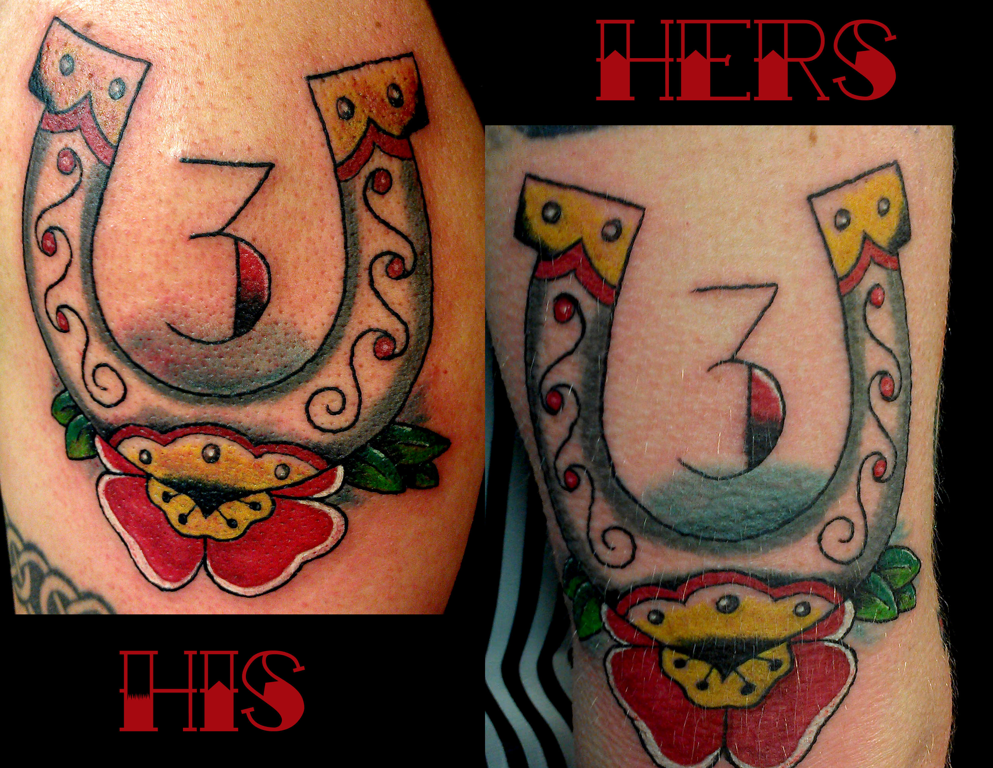 Horseshoes Story Of My Life Tattoo Shop