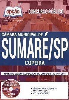Apostila Concurso Câmara de Sumaré 2018 | COPEIRA
