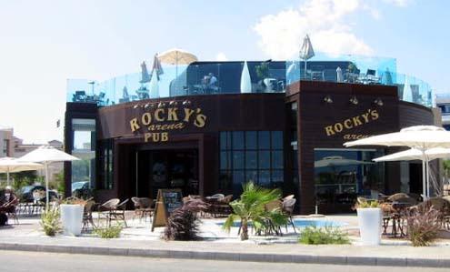 Rockys bar Playa Flamenca