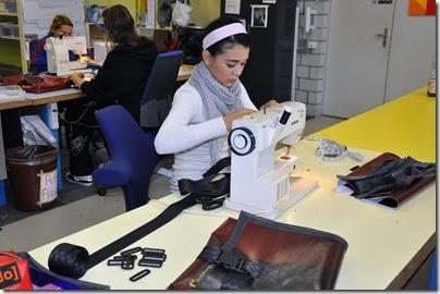 Taschenproduktion