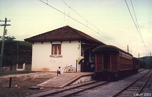 Estação de Piracuama, Pindamonhangaba - Foto: site Estações Ferroviárias
