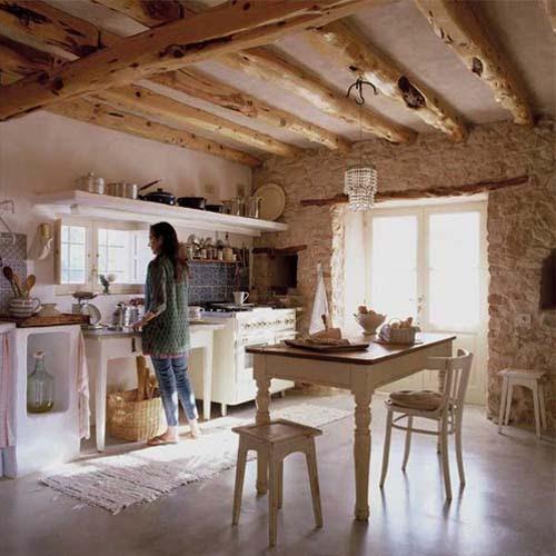 Inspiraci n deco casa de estilo r stico en formentera for Blog interiorismo decoracion
