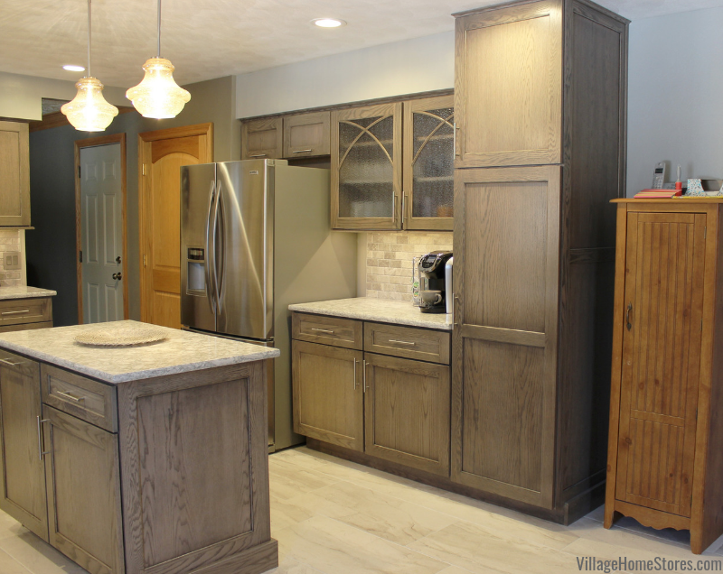 Warm Gray Oak Kitchen With Cambria Quartz Village Home Stores Blog