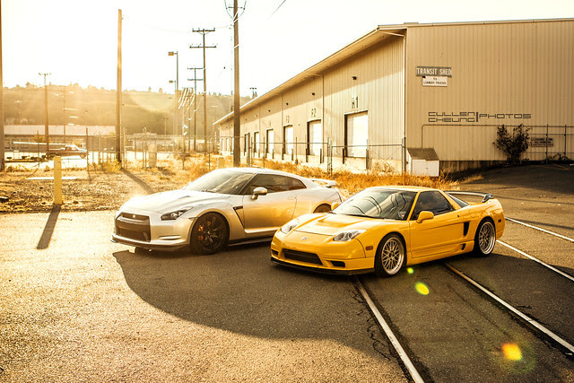 GTR & NSX 2