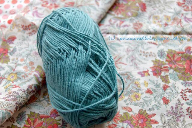 Fabric for dress, yarn for shawl