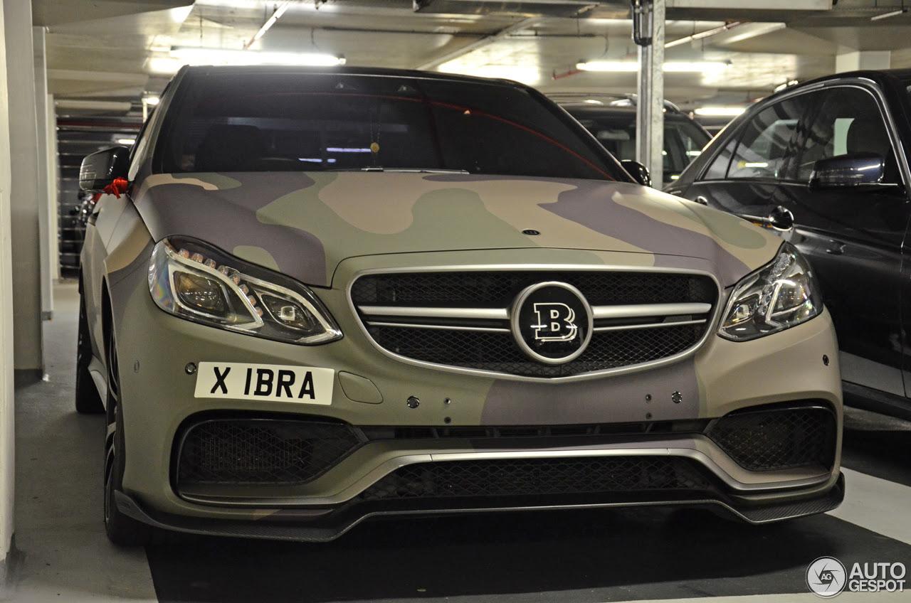 MercedesBenz Brabus E B63730 Biturbo W212 2013  21 July 2016  Autogespot
