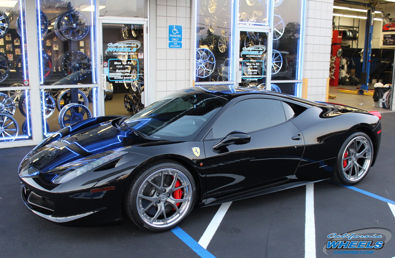 Car | Ferrari 458 on HRE S101 Wheels | California Wheels