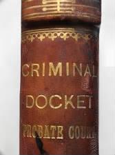 Criminal Docket 1905/1906