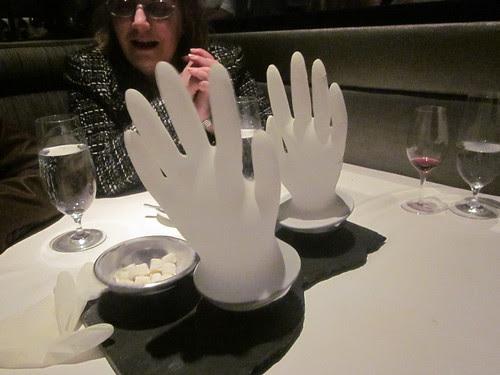 Next/El Bulli - Chicago - February 2012 - Passionfruit Marshmallow - the Farewell