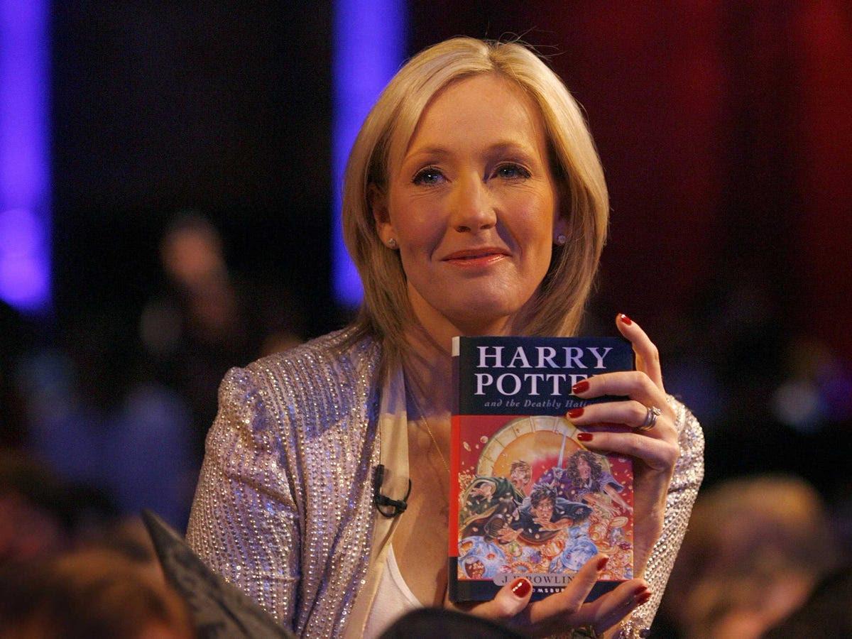 AGE 49: J.K. Rowling