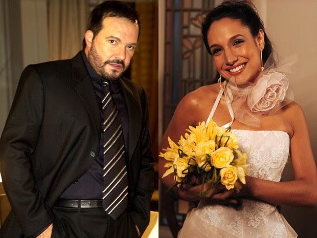 Wolf e Maria Maya na novela Senhora do Destino (Foto: TV Globo / João Miguel Júnior)