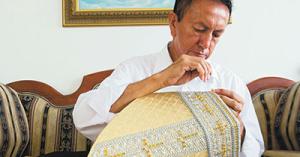 Luis Abel Delgado. Su trabajo es mundialmente conocido por su excelencia y calidad al coser