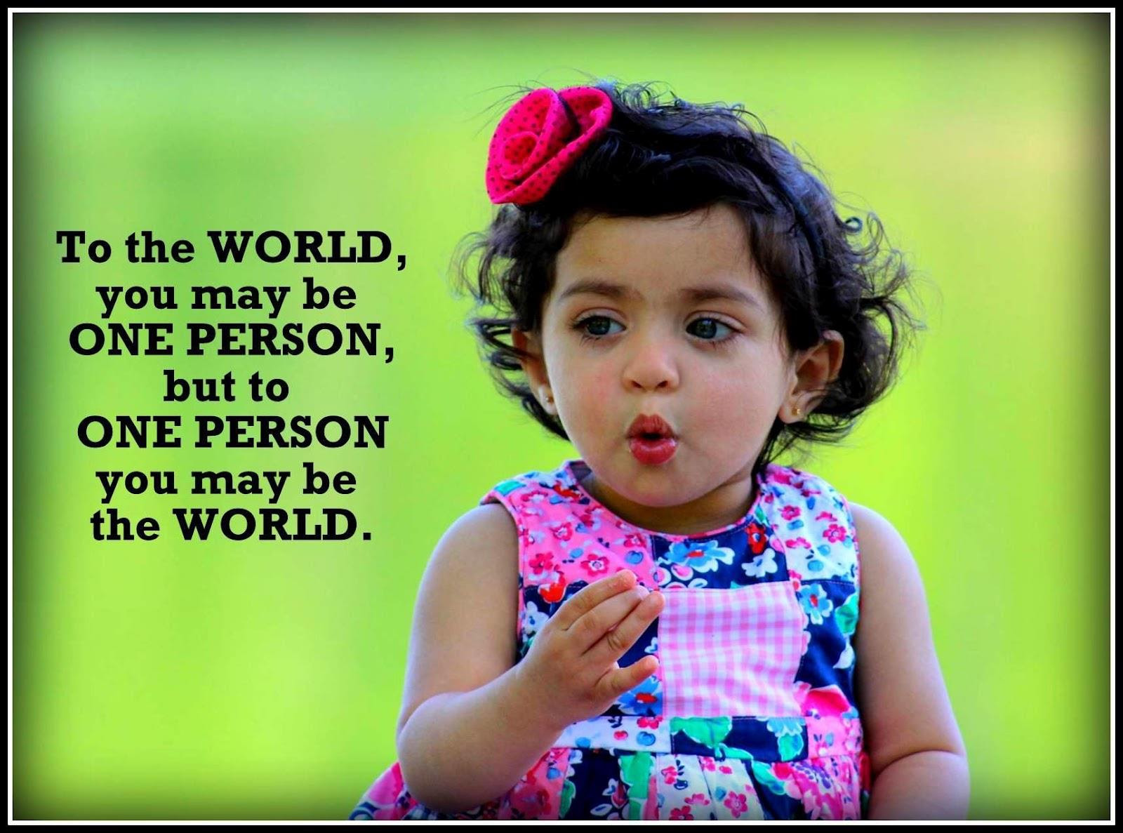 Cute Pics Of Babies With Funny Quotes