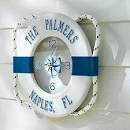 Personalized Nautical Outdoor Outdoor Clock - tropical - outdoor ...