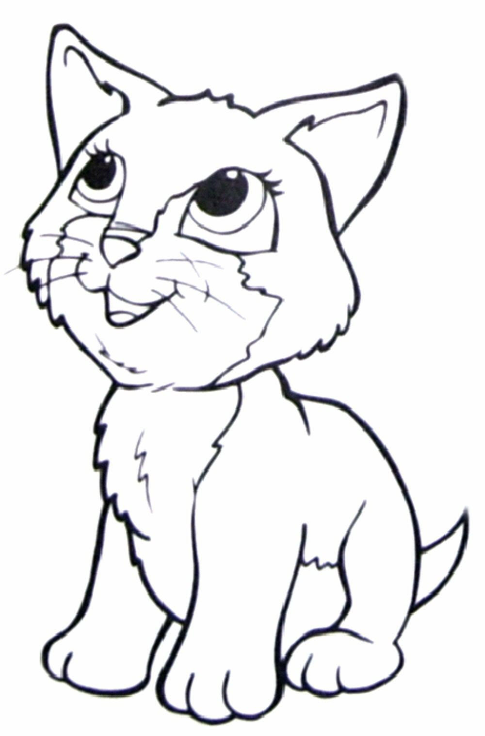 Siamese Cat Coloring Page at GetColorings.com   Free ...
