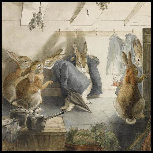 The Rabbits' Christmas Party - The Departure