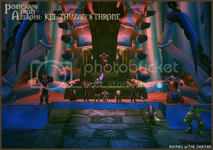 Postcards of Azeroth: Kel'Thuzad's Throne, by Rioriel Ail'thera