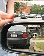 Lo specchietto inventato da Hicks (dal sito http://www.math.drexel.edu/~ahicks/driverside/)