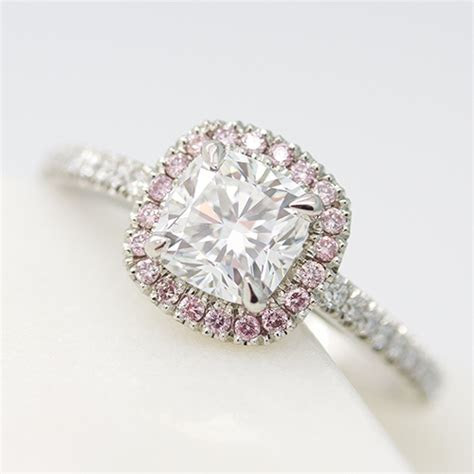 Pink diamond engagement rings for women   On sale near me