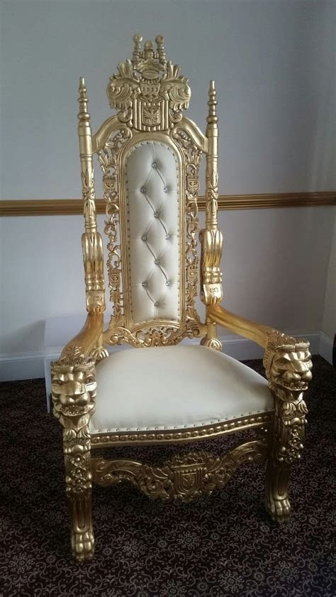 Secondhand Prop Shop   Thrones and Wedding Chairs   Crown
