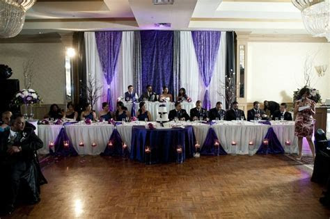 83 best images about Purple black white wedding on
