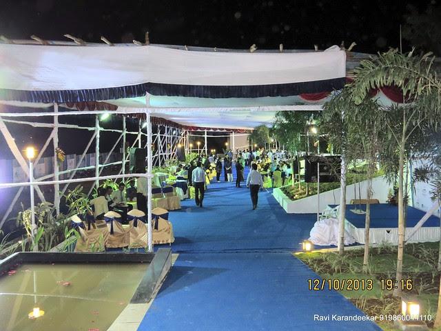 Pandal on the day of launch - Visit 2 BHK Show Flat of Venkatesh Lake Life, Phase 1 - 1 BHK 2 BHK Flats & Shops on Dattanagar Jambhulwadi Road, Ambegaon Khurd, Pune