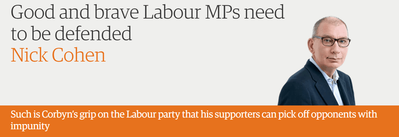 Good and brave Labour MPs need to be defended