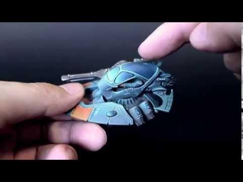 Modelling Extreme: Magnetic Levitating Eldar Jetbike